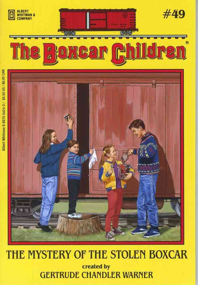 The Mystery of the Stolen Boxcar By Warner, Gertrude Chandler/ Tang, Charles (ILT)/ Warner, Gertrude Chandler (CRT)